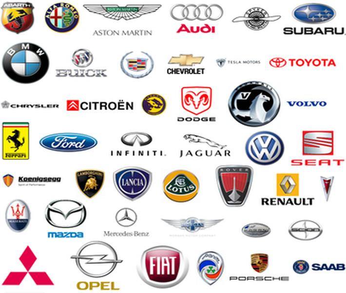 EPS VECTOR LOGOS Company And Corporate EPS AI Vector Logotypes - Car signs and namescustom d car logo signs with names emblemscar logo and their